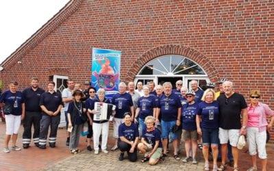"""Radfahrergruppe des Vereins """"Bad Zwischenahner Woche e.V."""" in Esterwegen"""
