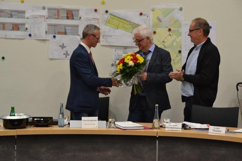 Einweisung des Samtgemeindebürgermeisters C. Hüntelmann