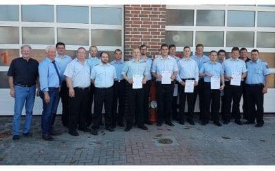 Feuerwehr Nordhümmling – Truppmann II Ausbildung