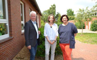 Rektorin der Grundschule Bockhorst offiziell eingeführt