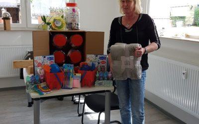 Spielzeugspende an Kindergärten und Schulen weitergeleitet