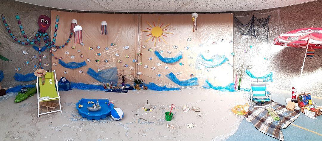 Sommer, Sonne, Strand und Meer im Kindergarten St. Marien Esterwegen