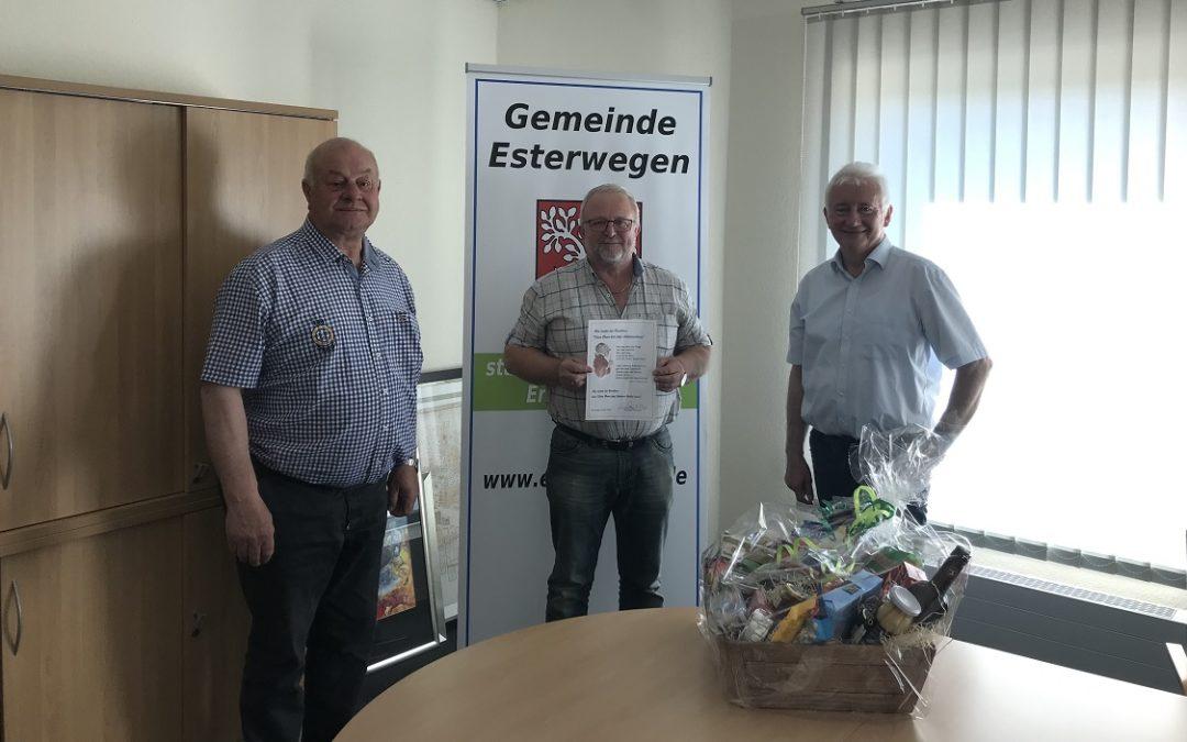 Stellv. Bauhofleiter der Gemeinde Esterwegen in den Ruhestand verabschiedet
