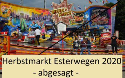 Herbstmarkt Esterwegen offiziell abgesagt