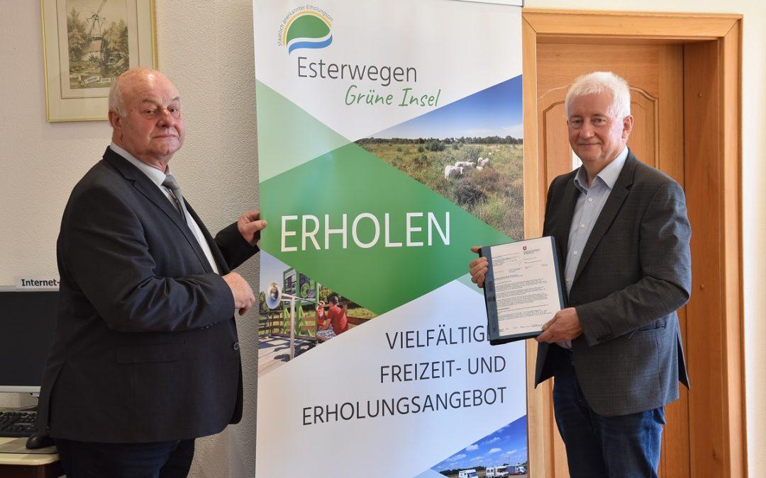 """Esterwegen für weitere 10 Jahre """"Staatlich anerkannter Erholungsort"""""""