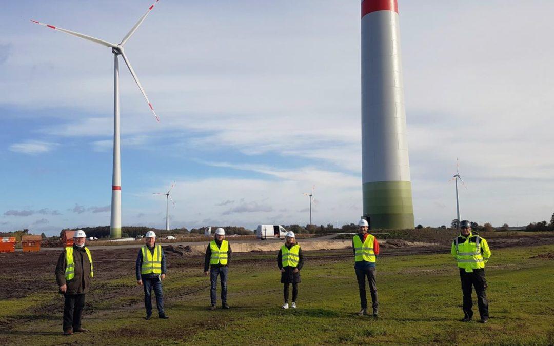 In Esterwegen gehen zwei neue Windenergieanlagen in Betrieb