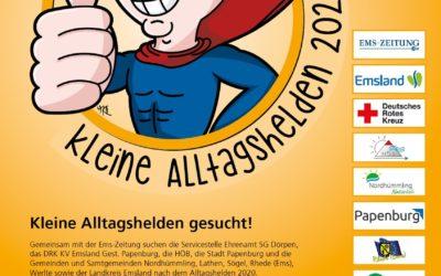 Kleine Alltagshelden 2020 – den 1. 🥇 und den 3. 🥉 Platz belegen Nominierte aus der Samtgemeinde Nordhümmling 🏆